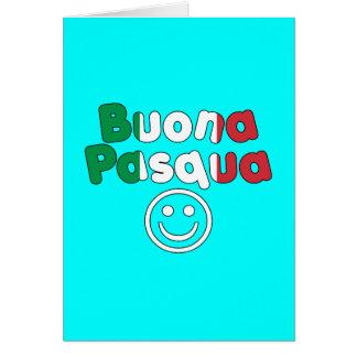 Presentes da páscoa para auto-falante italianos: B Cartão
