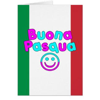 Presentes da páscoa para auto-falante italianos: B Cartões