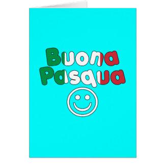Presentes da páscoa para auto-falante italianos: B Cartao