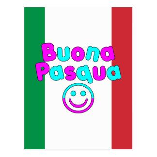 Presentes da páscoa para auto-falante italianos: cartão postal