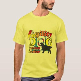 Presentes das camisas da agilidade do setter de