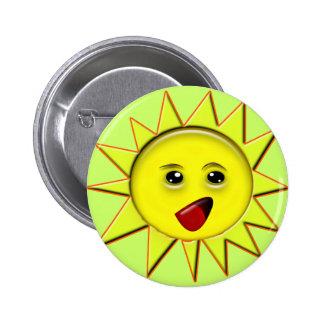 Presentes das energias solares e t-shirt relativo bóton redondo 5.08cm