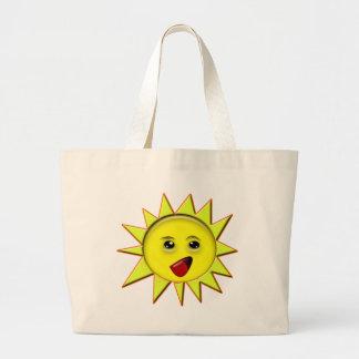 Presentes das energias solares e t-shirt relativo sacola tote jumbo