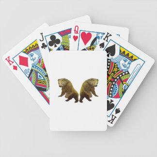 Presentes das naturezas jogos de baralho