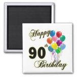Presentes de aniversário do 90 e roupa felizes do  imas
