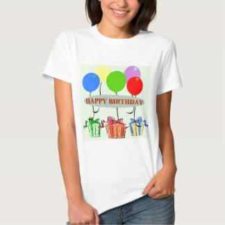 Presentes de aniversário e Ballons Tshirt