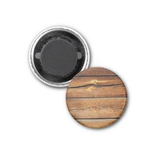 Presentes de madeira do país do conselho das ímã redondo 2.54cm