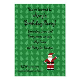 Presentes de Papai Noel Convites
