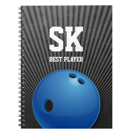 Presentes de rolamento do esporte de | cadernos espiral