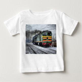 Presentes diesel da locomotiva do trem camiseta