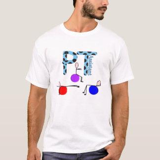 Presentes do assistente da fisioterapia camisetas