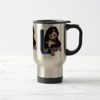 Presentes do cão de montanha de Bernese Caneca Térmica