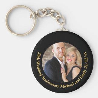 Presentes do chaveiro do aniversário de casamento