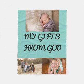 Presentes do deus cobertor de lã