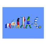 Presentes do futboll da evolução do futebol do fut