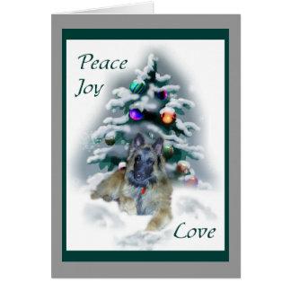 Presentes do Natal de Tervuren do belga Cartão