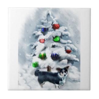 Presentes do Natal do Corgi de Galês do casaco de