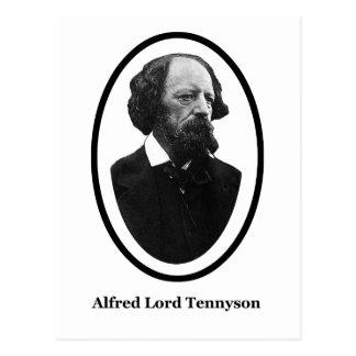 Presentes do senhor Tennyson Título MUSEU Zazzle Cartão Postal