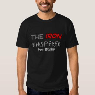 """Presentes do trabalhador do ferro para homens """"o camiseta"""