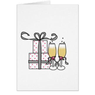 Presentes e cartões de Champagne