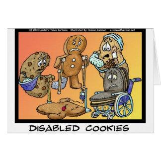 Presentes engraçados & coleções dos biscoitos cartão comemorativo