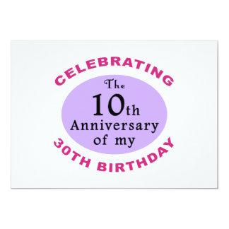 Presentes engraçados da mordaça do aniversário de convite personalizado