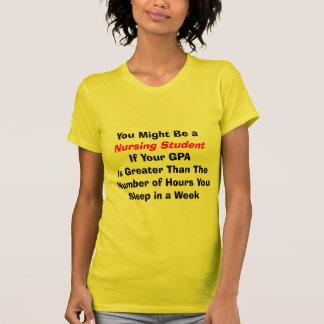 Presentes engraçados do estudante dos cuidados t-shirt