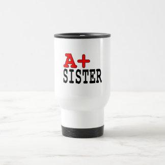 Presentes engraçados para irmãs: A+ Irmã Canecas