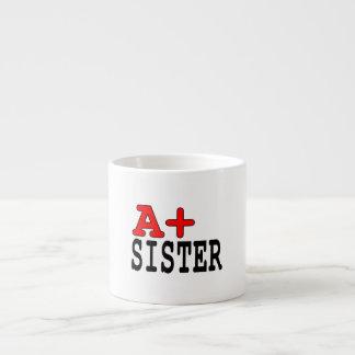 Presentes engraçados para irmãs A+ Irmã Canecas Para Expresso