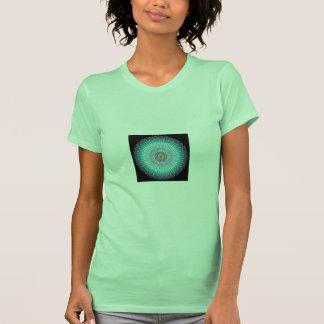 Presentes espirituais da mandala t-shirt