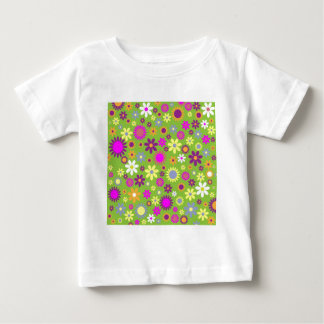 Presentes florais do hipster t-shirts