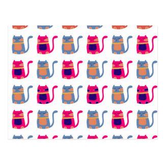 Presentes originais azuis do melão cor-de-rosa cartão postal