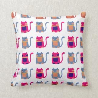 Presentes originais azuis do melão cor-de-rosa gor travesseiro de decoração