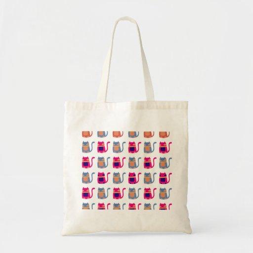 Presentes originais azuis do melão cor-de-rosa gor bolsas para compras