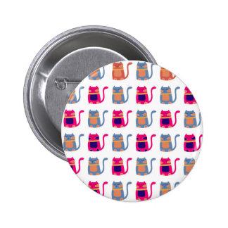 Presentes originais azuis do melão cor-de-rosa gor boton