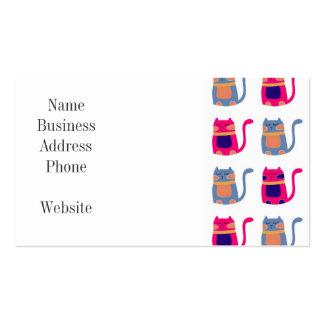 Presentes originais azuis do melão cor-de-rosa gor modelos cartao de visita