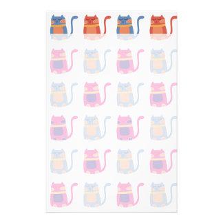 Presentes originais azuis do melão cor-de-rosa gor papeis personalizados