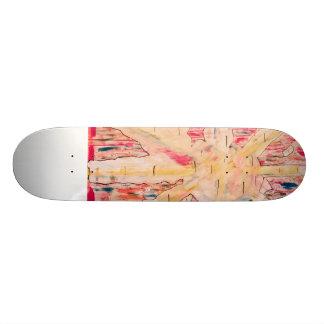 Presentes originais shape de skate 20,6cm