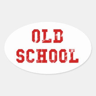 Presentes ovais da etiqueta | Oldskool da velha