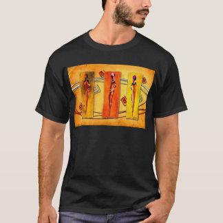 Presentes retros 01 do estilo do vintage de África Camiseta