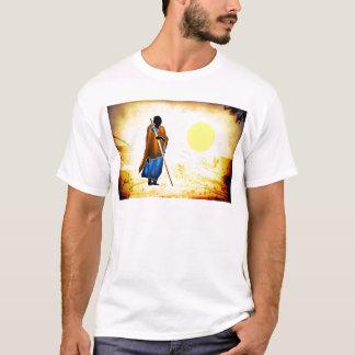 Presentes retros 02 do estilo do vintage de África Camiseta