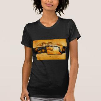 Presentes retros 05 do estilo do vintage de África Tshirt