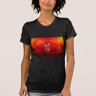 Presentes retros 08 do estilo do vintage de África Tshirt