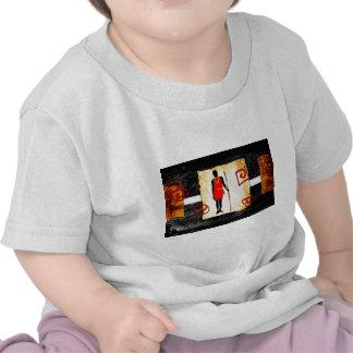 Presentes retros 09 do estilo do vintage de África T-shirt