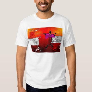 Presentes retros 11 do estilo do vintage de África Tshirt