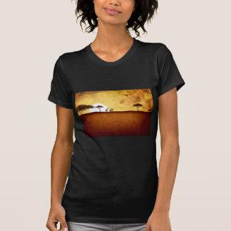 Presentes retros 16 do estilo do vintage de África T-shirts