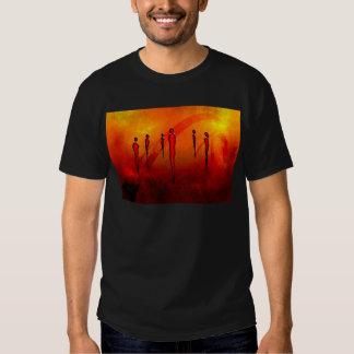 Presentes retros 22 do estilo do vintage de África Tshirt