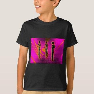 Presentes retros 32 do estilo do vintage de África Camiseta