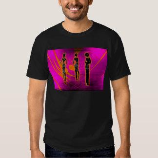 Presentes retros 32 do estilo do vintage de África Tshirt