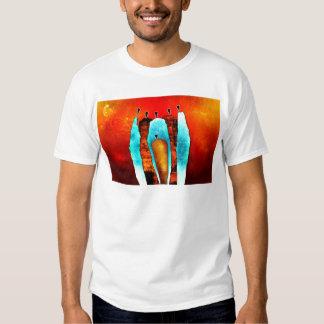 Presentes retros 39 do estilo do vintage de África T-shirt